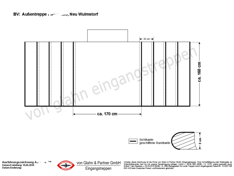 von glahn eingangstreppen aktuelle nachrichten 2016. Black Bedroom Furniture Sets. Home Design Ideas