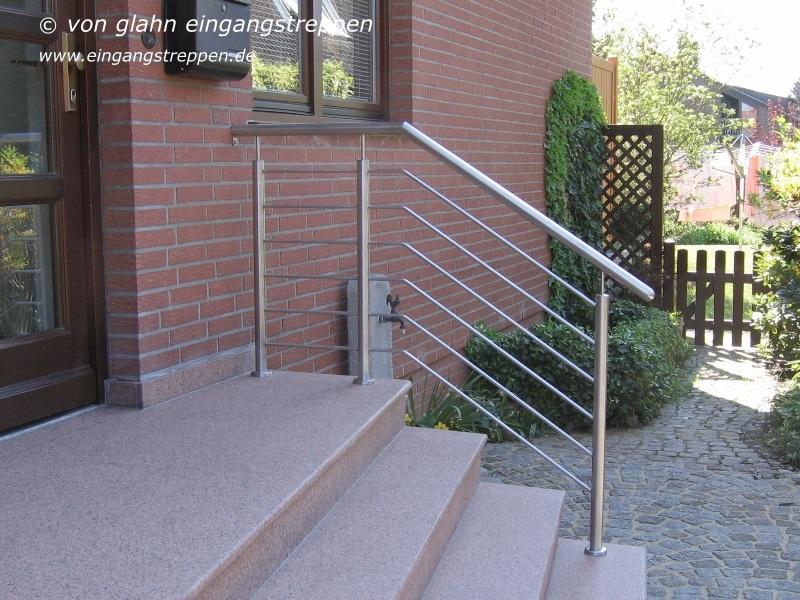 Handlauf Und Treppengelander Fur Aussentreppen Und Eingangstreppen Aussen