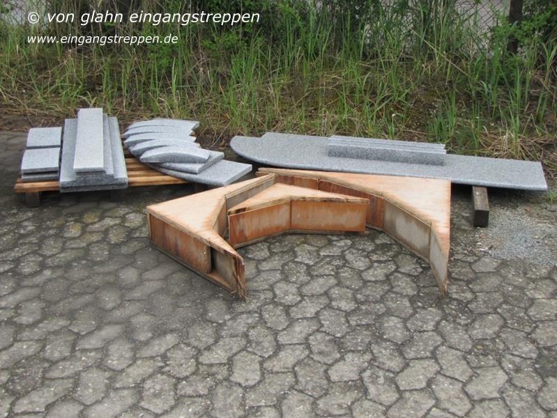 fertige treppenstufen au en fv25 hitoiro. Black Bedroom Furniture Sets. Home Design Ideas